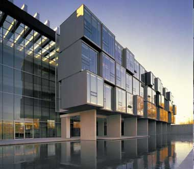 Waterloo's Perimeter Institute for Theoretical Physics, founded in 1999 by RIM co-CEO Mike Lazaridis.