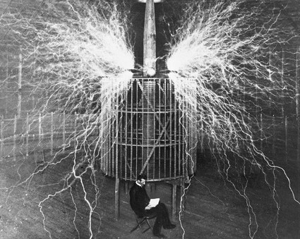 "Inventor Nikola Tesla. The word technology comes from the Greek words ""techne"" and ""logos"". A modern definition proves hard to pin down."
