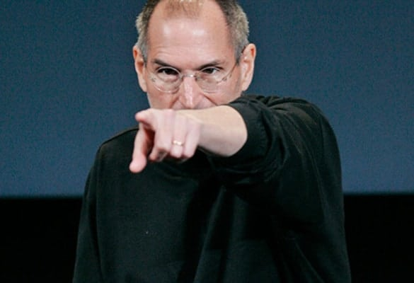 In 1998, Kevin O'Leary met his match in the bully department when he traveled to Cupertino to meet with Steve Jobs.