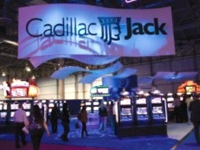 After the acquisition of Atlanta-based gaming machine maker Cadillac Jack, Amaya Gaming's stock soared. The company says investors speculating about another transformative pickup has driven its stock to all-time highs.