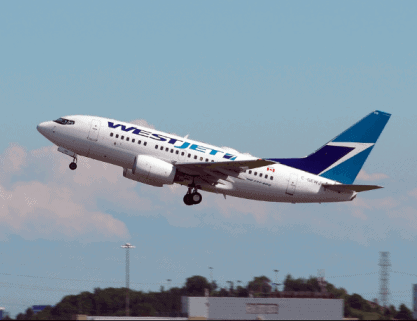 WestJet competitive advantage