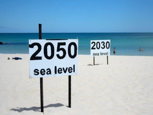 Rising sea level
