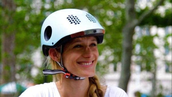 Classon, a smart helmet for cyclists, races past Kickstarter goal