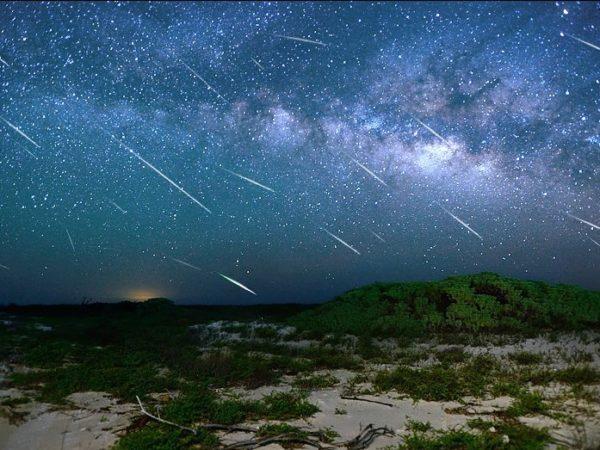 Halley's Comet meteor shower