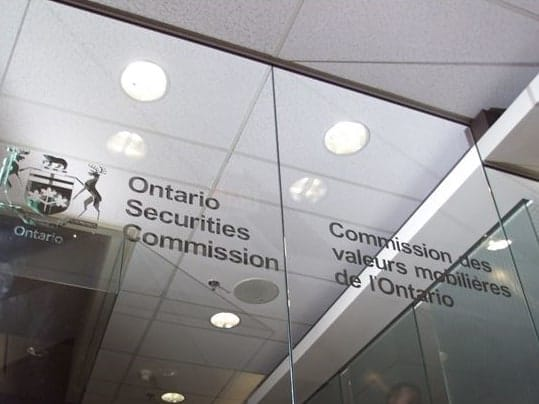 The Ontario Securities Commission ponders cryptocurrencies