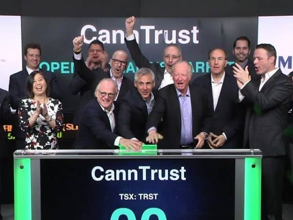 canntrust holdings analyst