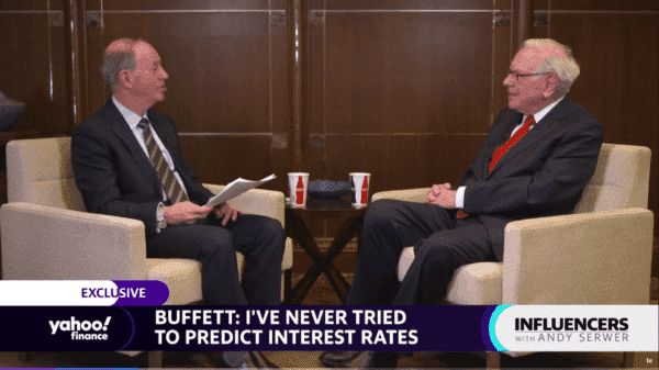 Warren Buffett interest rates